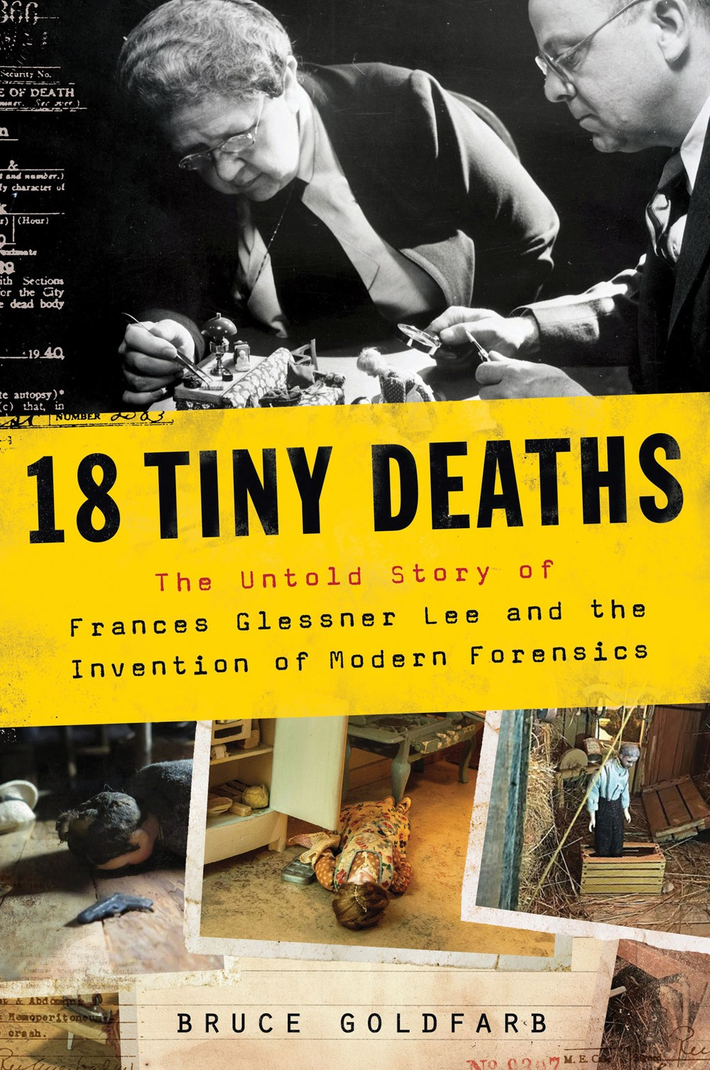 ARC Mini Review: 18 Tiny Deaths|| Bruce Goldfarb